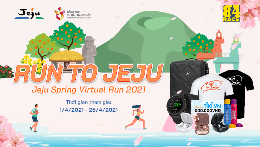 RUN TO JEJU - JEJU SPRING VIRTUAL RUN 2021
