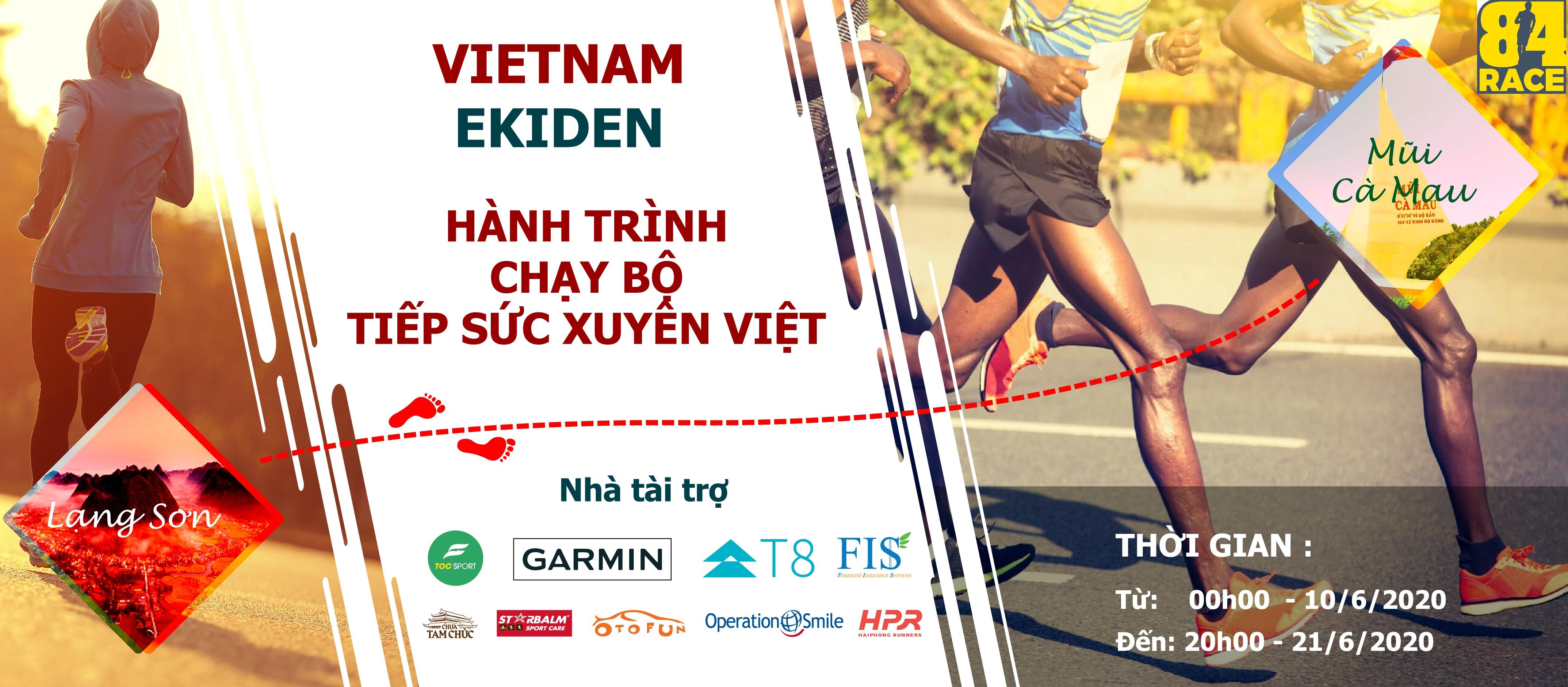 Hành trình chạy bộ tiếp sức xuyên Việt