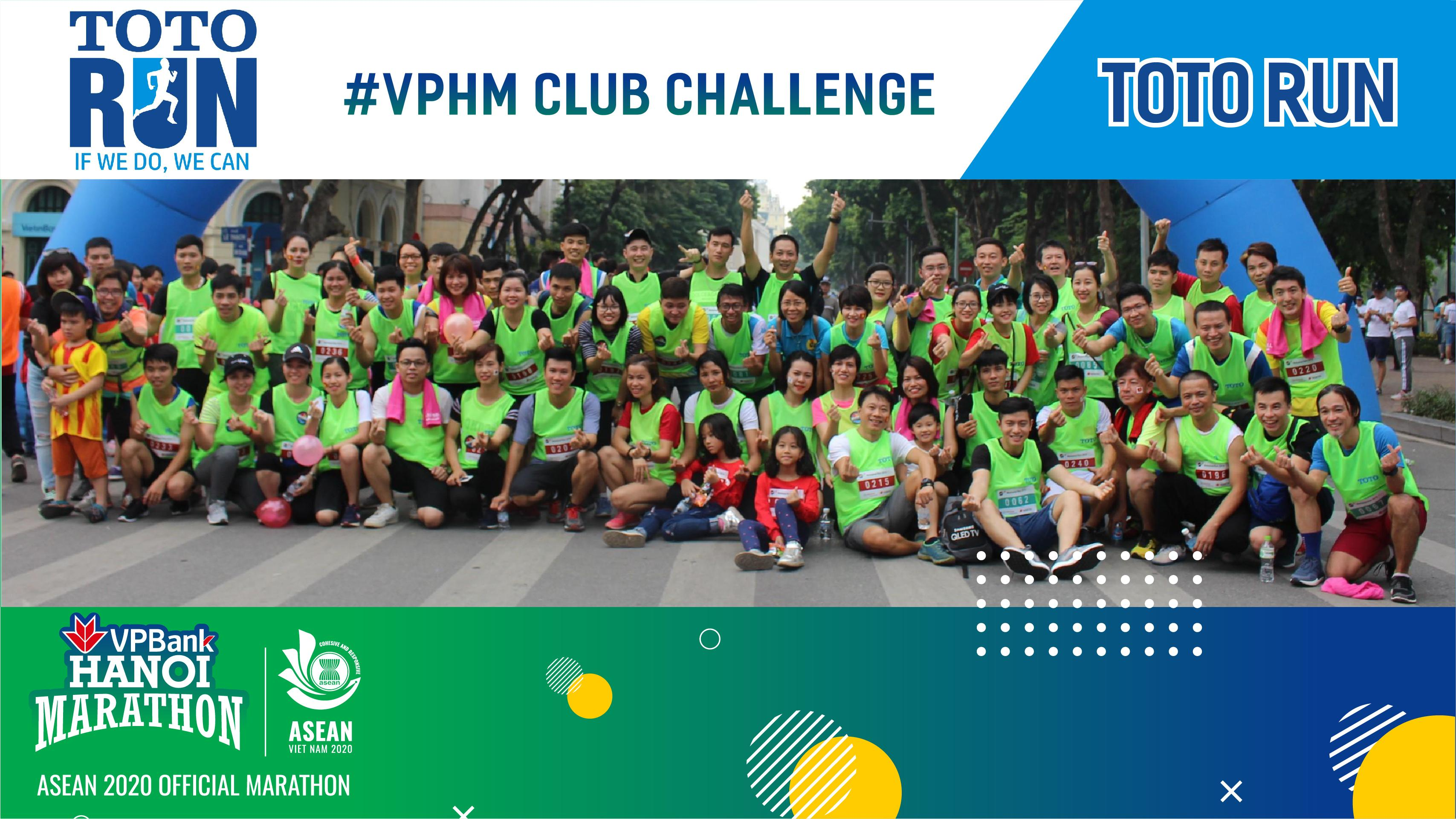 VPHM Club Challenge - TOTO Runners and Friends