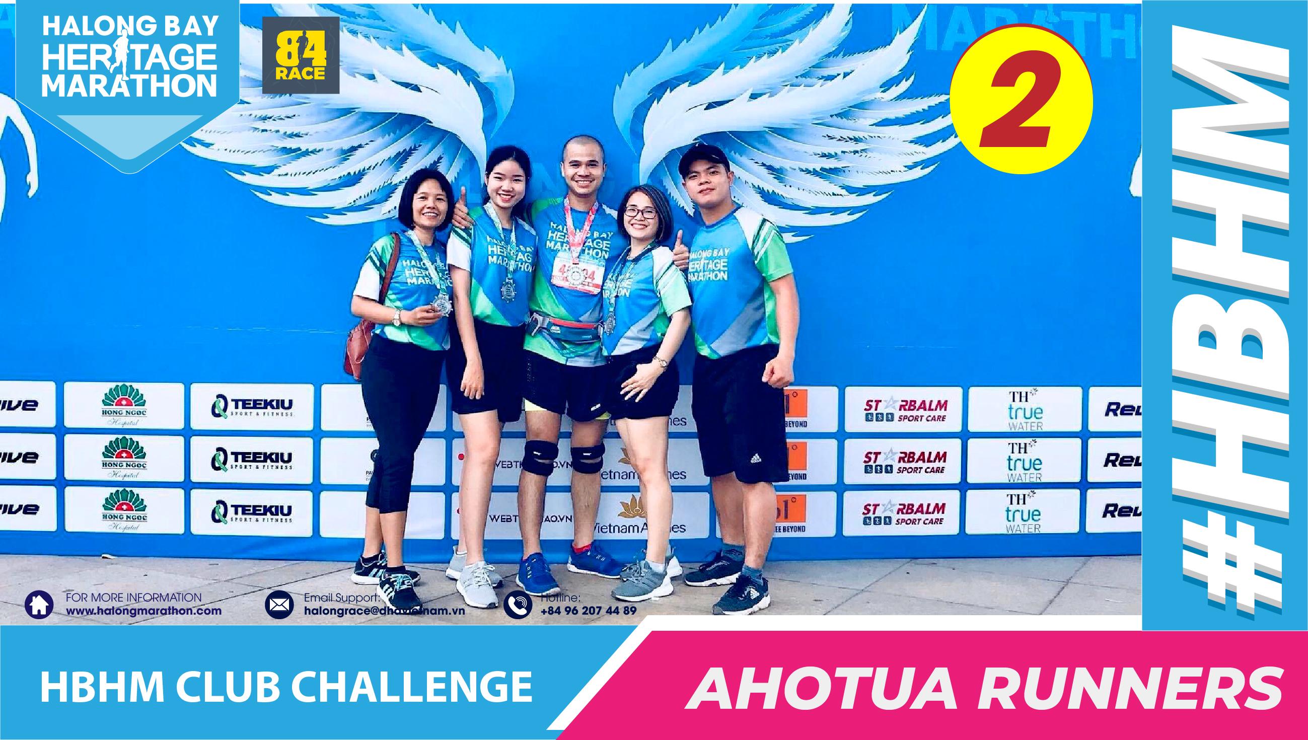 HBHM Challenge 2020 - Ahotua Runner 2