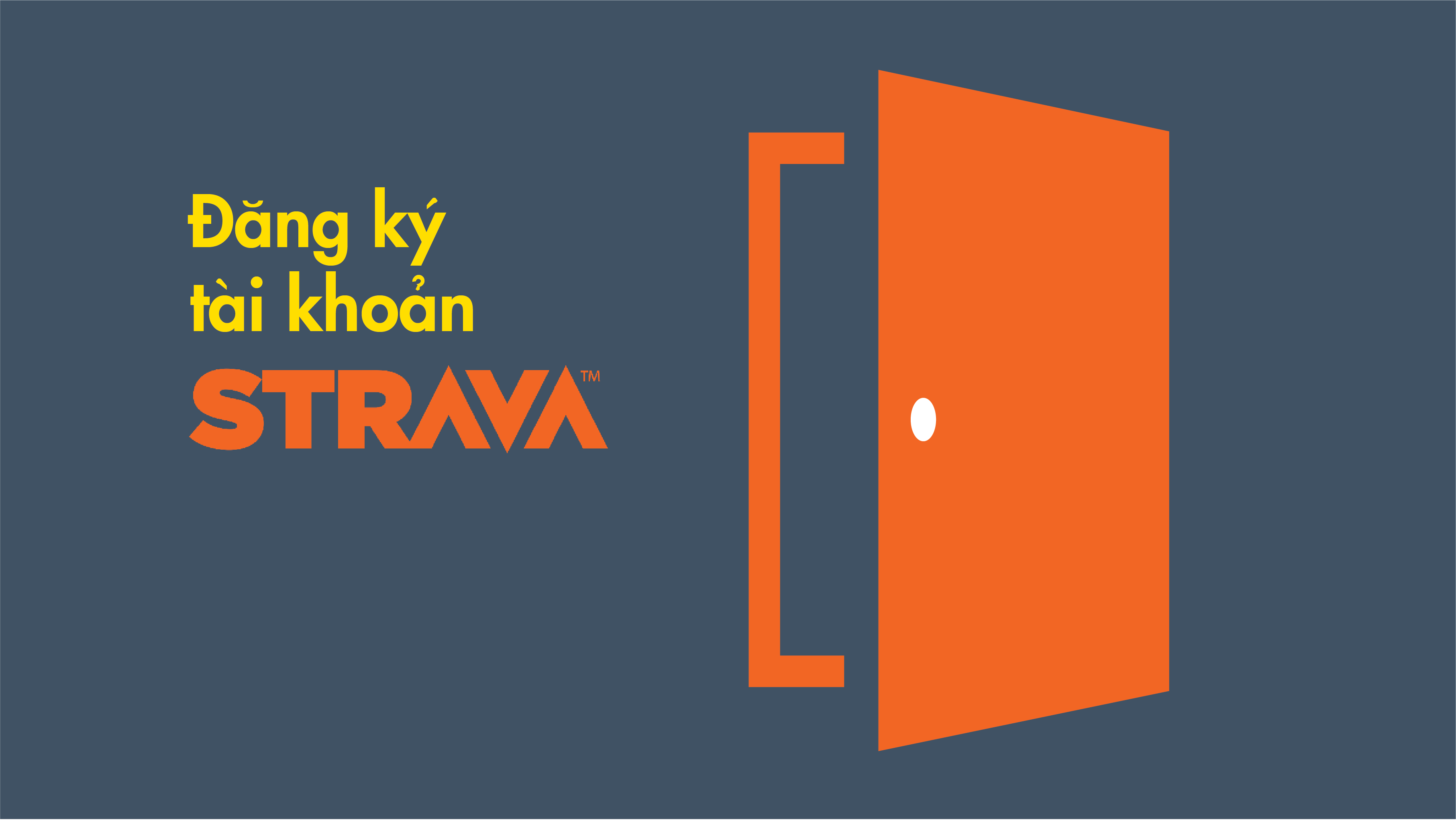 Làm thế nào để tôi đăng ký tài khoản STRAVA?