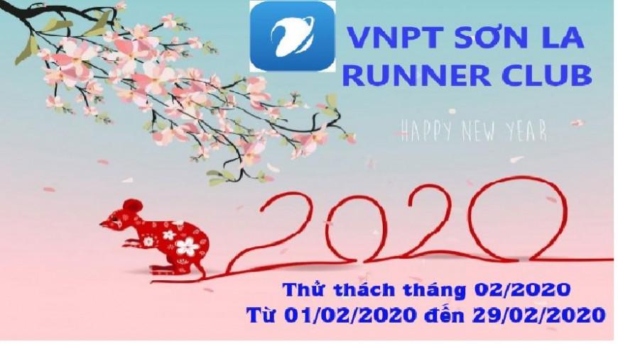 VNPT Sơn La Runner Club - Thử thách tháng 02-2020