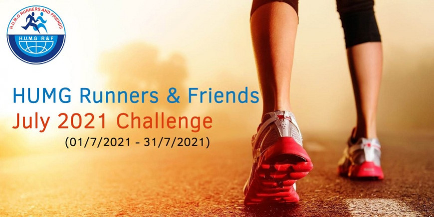 HUMG Runners and Friends July 2021 Challenge