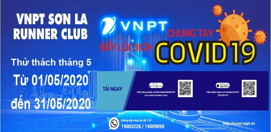 VNPT Sơn La Runner Club - Thử thách tháng 05-2020