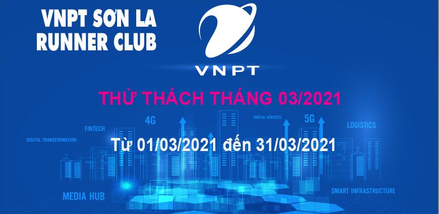 VNPT Sơn La Runner thử thách tháng 3