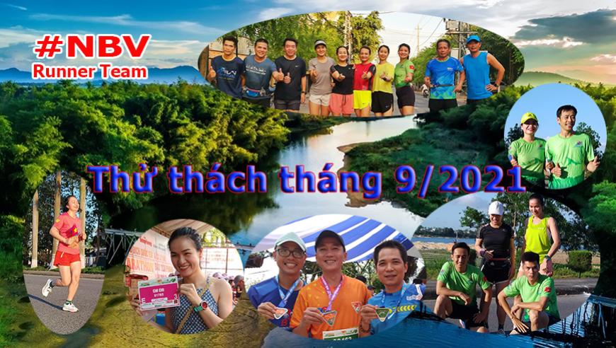 NBV Runner với Thử thách tháng 9 - 2021 mở rộng