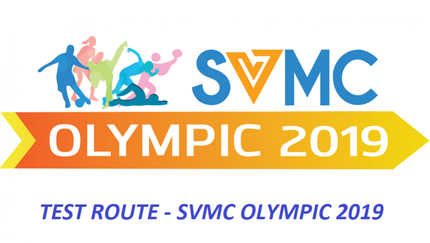 TEST ROUTE - SVMC OLYMPIC 2019