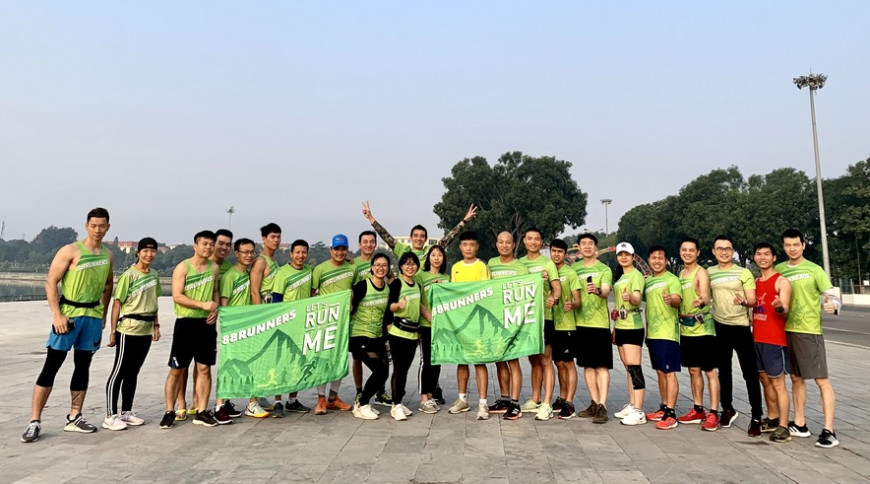 88 Runners nâng cao thể lực đẩy lùi Covid
