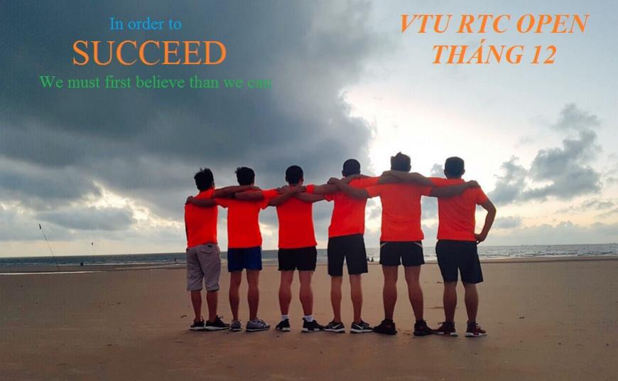 VTU RTC Open - Tháng 12