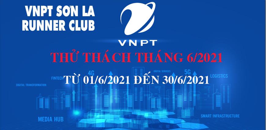 VNPT Sơn La Runner thử thách tháng 6