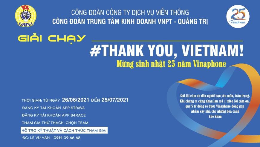 THANK YOU, VIETNAM!