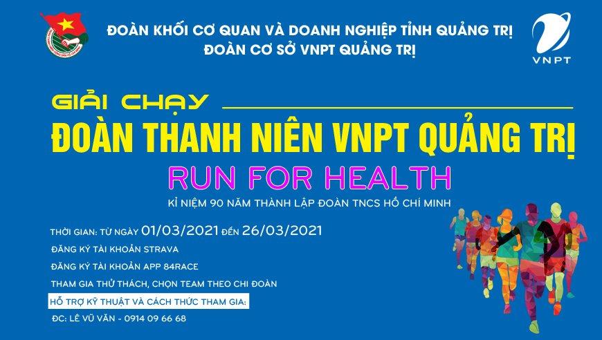 Thanh niên VNPT Quảng Trị - Run For Health