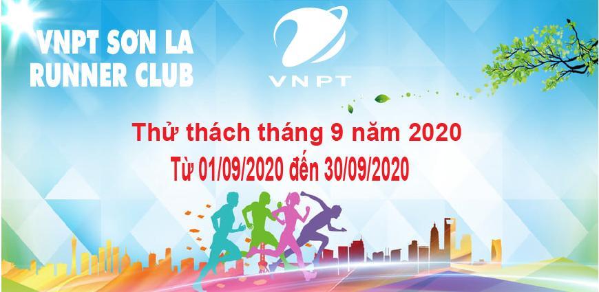 VNPT Sơn La Runner thử thách tháng 9