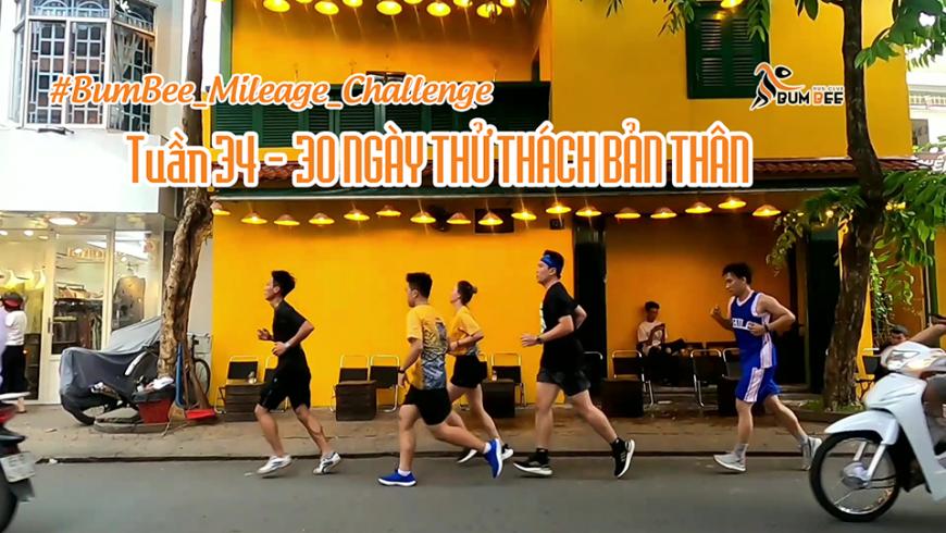 THỬ THÁCH NỘI BỘ - BUMBEE MILEAGE CHALLENGE - 30 NGÀY THỬ THÁCH BẢN THÂN
