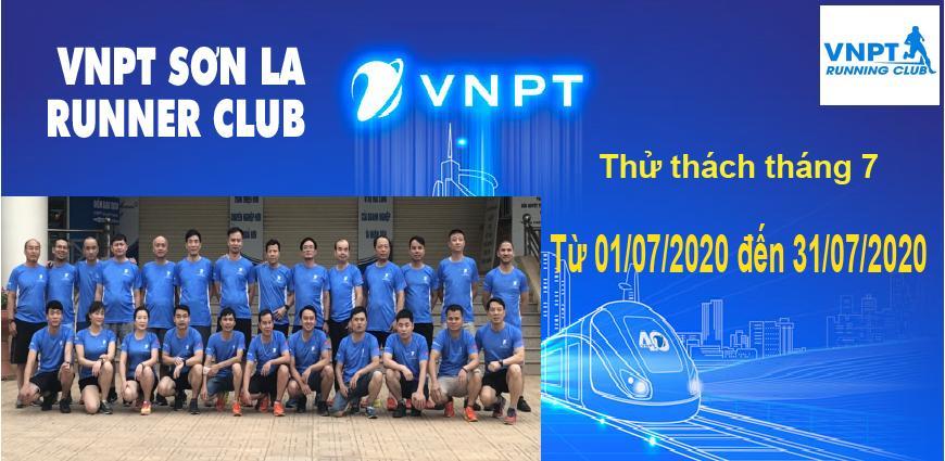 VNPT Sơn La Runner Club - Thử thách tháng 07-2020