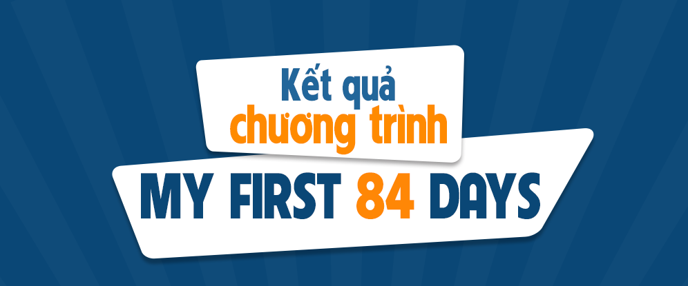 Kết quả chương trình Tích sao ảo Nhận quà thật - MY FIRST 84 DAYS