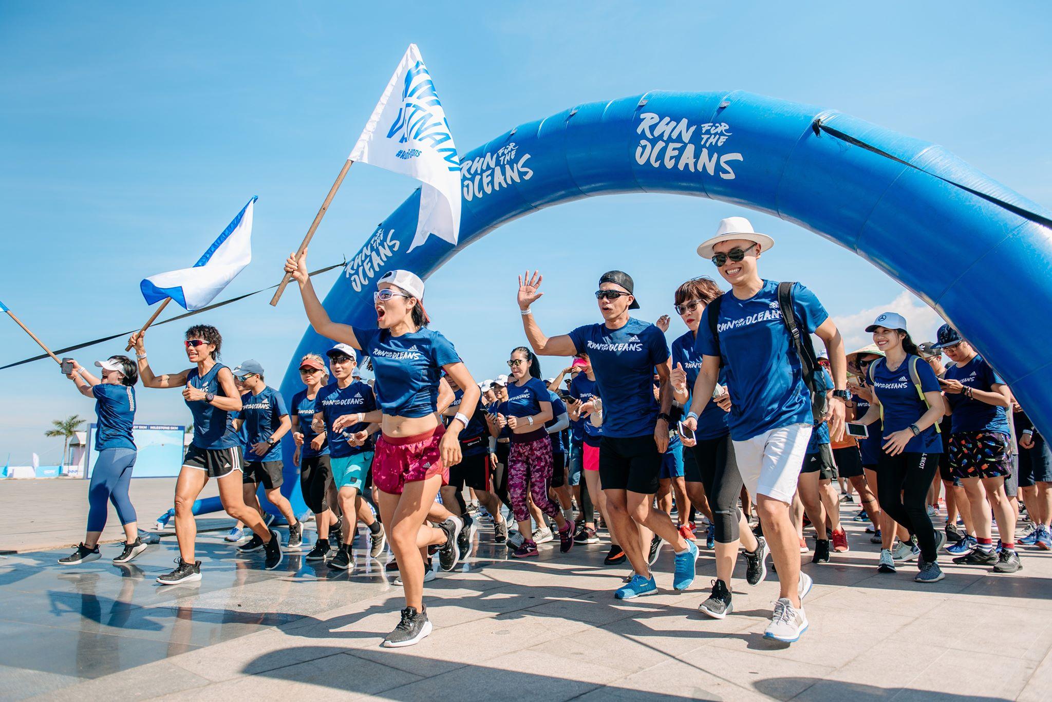 Ngay trước VNExpress Marathon, ở Quy Nhơn diễn ra một buổi chạy xanh mát, bạn có biết?