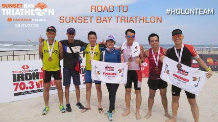 Road to Sunset Bay Triathlon 2019
