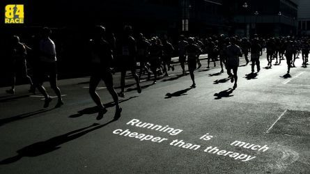 Chạy bộ, Đi bộ để tránh ngải Heo ngày Tết