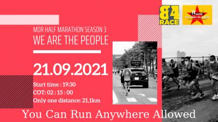 MDR Half Marathon Season3