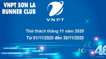 VNPT Sơn La Runner thử thách tháng 11