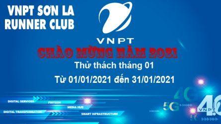 VNPT Sơn La Runner thử thách tháng 1