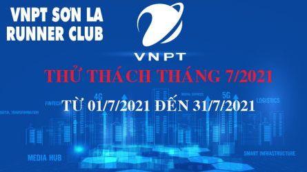 VNPT Sơn La Runner thử thách tháng 7