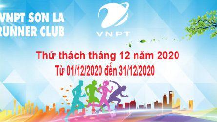 VNPT Sơn La Runner thử thách tháng 12