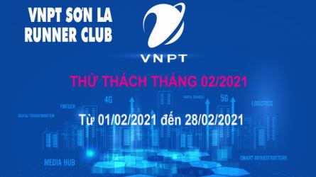 VNPT Sơn La Runner thử thách tháng 2