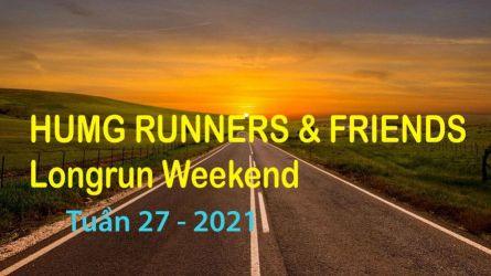 HUMG Runners and Friends Long Run Weekend, Tuần 27 - 2021