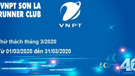 VNPT Sơn La Runner Club - Thử thách tháng 03-2020