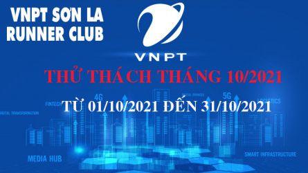 VNPT Sơn La Runner thử thách tháng 10