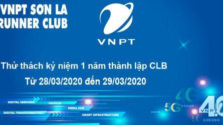 VNPT Sơn La runner kỷ niệm 1 năm thành lập CLB