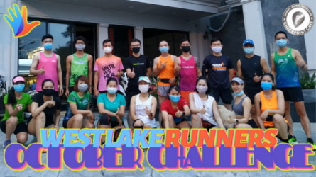WEST LAKE RUNNERS challenge - Tháng 10
