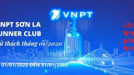 VNPT Sơn La Runner Club - Thử thách tháng 01-2020