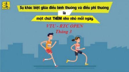 VTU RTC Open - Tháng 3