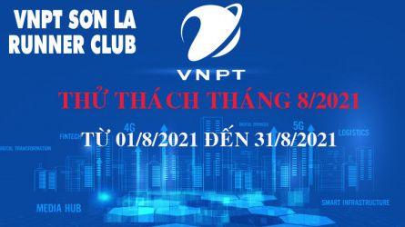 VNPT Sơn La Runner thử thách tháng 8