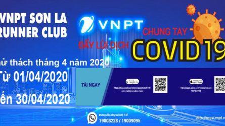 VNPT Sơn La Runner Club - Thử thách tháng 04-2020