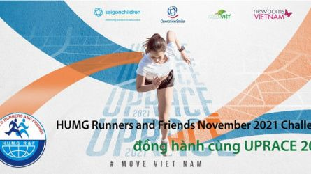 HUMG Runners and Friends November 2021 OPEN Challenge - Đồng hành cùng UPRACE 2021