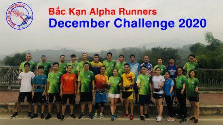 Bắc Kạn Alpha Runners - Thử thách tháng 12