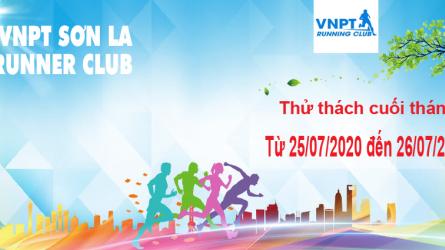 VNPT Sơn La Runner thử thách cuối tháng 7