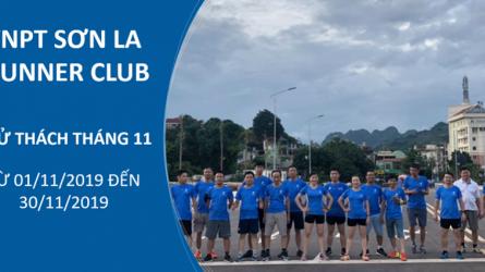 VNPT Sơn La Runner Club - Thử thách tháng 11-2019