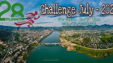 Hoà Bình Runners - Challenge tháng 7