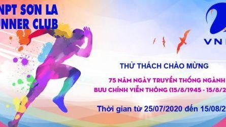 VNPT Sơn La Runner kỷ niệm 75 ngày truyền thống ngành