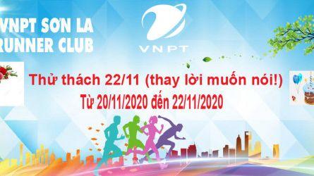 VNPT Sơn La Runner thử thách 22-11