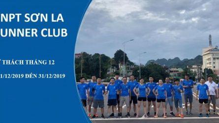 VNPT Sơn La Runner Club - Thử thách tháng 12-2019